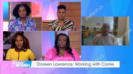 Editorial image of 'Loose Women' TV Show, London, UK - 22 Oct 2020
