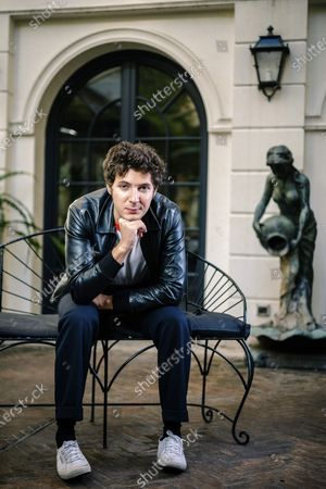 Stock Picture of Actor Vincent Lacoste poses for portraits for the film De nos freres blesses, at the Rome Film Fest in Rome