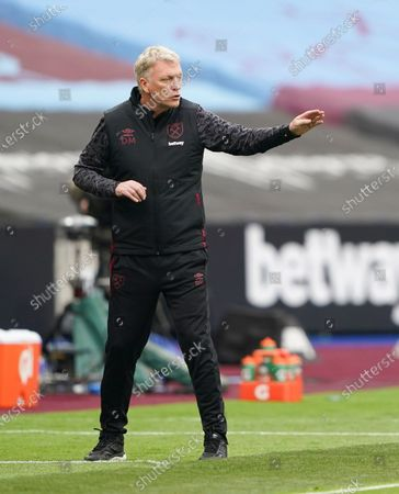 Stock Picture of West Ham manager David Moyes