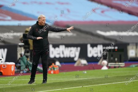 Stock Photo of West Ham manager David Moyes