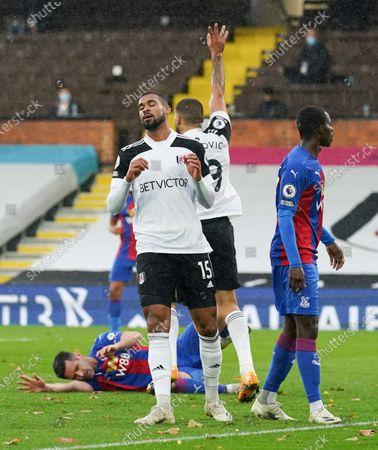 Ruben Loftus-Cheek of Fulham reacts