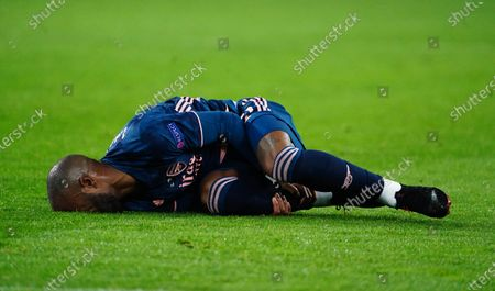 Alexandre Lacazette on the floor,