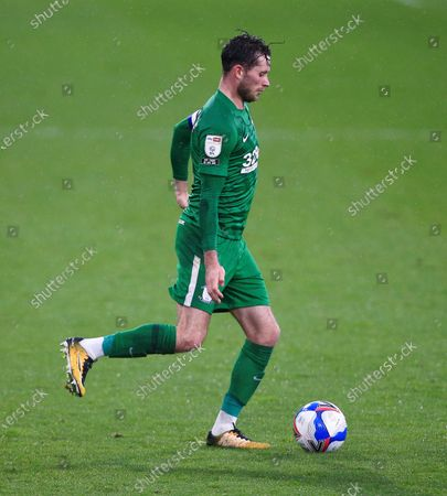 Stock Picture of Alan Browne of Preston North End