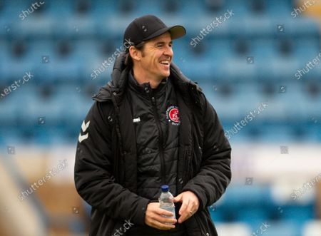 Joey Barton manager of Fleetwood Town