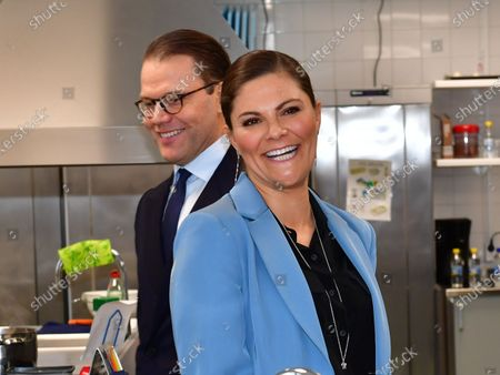 Editorial picture of Crown Princess Victoria visits the Rinman special school, Eskilstuna, Sodermanland county, Sweden - 22 Oct 2020