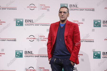 Adamo Dionisi, during photocall of the film ''The Shift'' at the 15th annual Rome International Film Festival, in Rome, Italy, 22 October 2020. The film festival runs from 15 to 25 October.