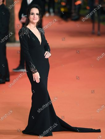 Ivana Lotito arrives for the screening of 'Romulus' at the 15th annual Rome International Film Festival, in Rome, Italy, 23 October 2020. The film festival runs from 15 to 25 October.