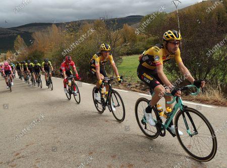 Editorial picture of Vuelta a Espana 2020 - 3rd dtage, Laguna Negra De Vinuesa, Spain - 22 Oct 2020