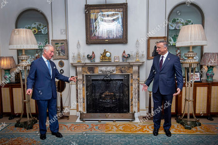 Editorial picture of The Prince of Wales meets Iraqi Prime Minister Mustafa al-Kadhimi, Clarence House, London, UK - 22 Oct 2020
