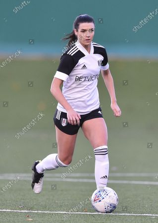 Editorial picture of Fulham Women v London Bees, Capital Women's Cup, Football, Motspur Park, London, UK - 25 Oct 2020