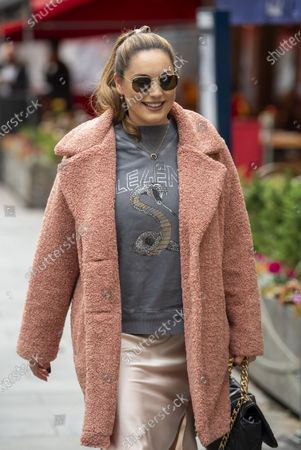 Editorial photo of Kelly Brook out and about, London, UK - 22 Oct 2020
