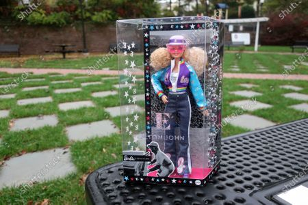 Editorial picture of Elton John Barbie, East Rutherford, United States - 22 Oct 2020