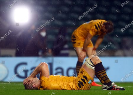 Editorial image of Exeter Chiefs v Wasps, Gallagher Premiership, Final, Rugby Union, Twickenham Stadium, London, UK - 24 Oct 2020