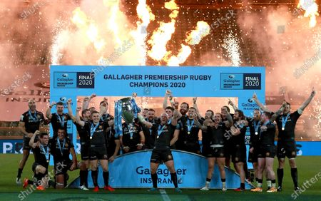 Editorial picture of Exeter Chiefs v Wasps, Gallagher Premiership, Final, Rugby Union, Twickenham Stadium, London, UK - 24 Oct 2020