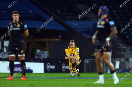 Editorial photo of Exeter Chiefs v Wasps, Gallagher Premiership, Final, Rugby Union, Twickenham Stadium, London, UK - 24 Oct 2020