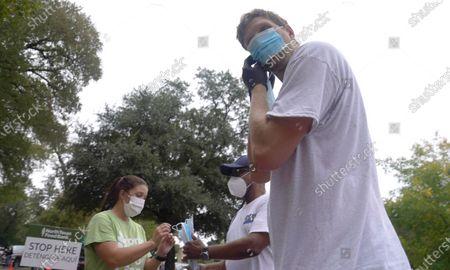 Editorial photo of Virus Outbreak Texas, Dallas, United States - 22 Oct 2020