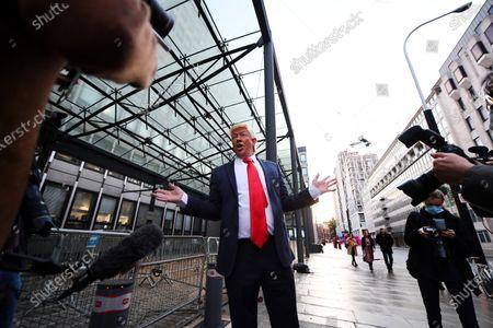 Redaktionelles Bild von Politicians in Westminster, London, UK - 22 Oct 2020
