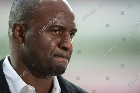 Nice's head coach Patrick Vieira prior to the UEFA Europa League soccer match between Bayer Leverkusen and OGC Nice, in Leverkusen, Germany, 22 October 2020.