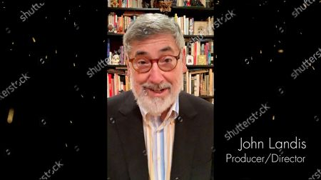 John Landis presents the Outstanding Contribution to Television award