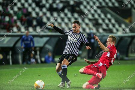 Editorial image of PAOK FC vs Omonia Nicosia, Thessaloniki, Greece - 22 Oct 2020