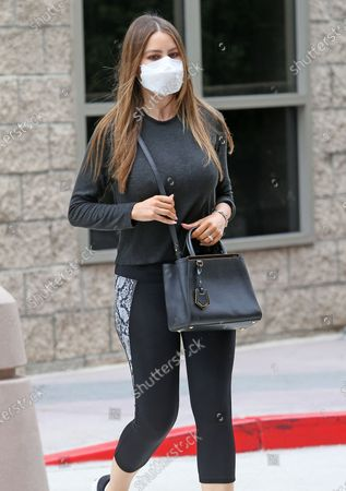 Stock Photo of Sofia Vergara steps out in comfortable attire as she's seen coming out of a medical building