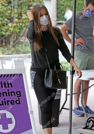 Sofia Vergara steps out in comfortable attire as she's seen coming out of a medical building