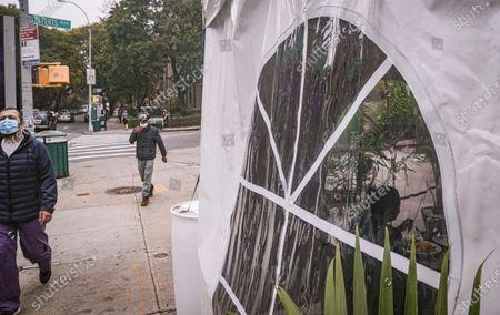 Redakční fotka na téma Virus Outbreak , New York, United States - 22 Oct 2020