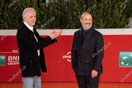 Director Fernando Trueba and actor Javier Camara