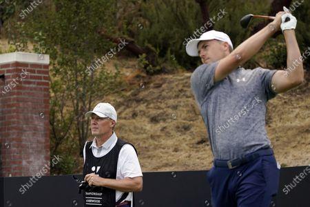 Redaktionelle Aufnahme von Zozo Championship Golf, Thousand Oaks, United States - 22 Oct 2020