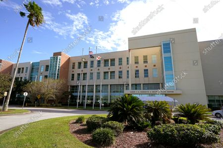 Florida Courthouse Brevard, Melbourne, United States - 22 Oct 2020 에디토리얼 사진