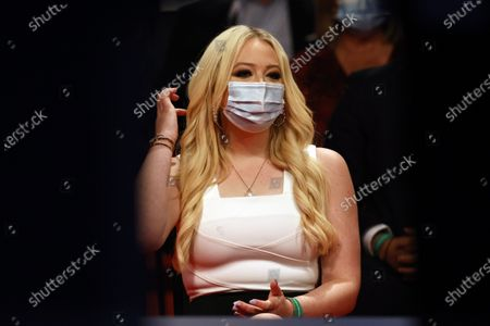 Tiffany Trump listens as President Donald Trump and Democratic presidential candidate former Vice President Joe Biden participate in the final presidential debate at Belmont University, in Nashville, Tenn