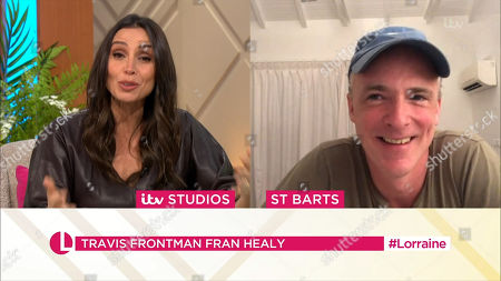 Christine Lampard and Fran Healy