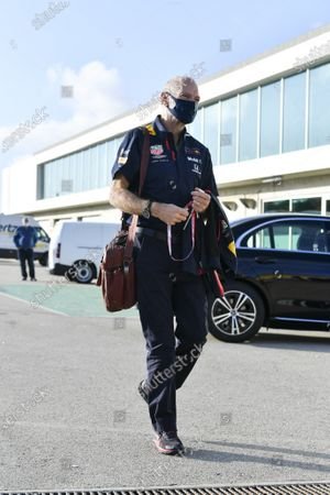Adrian Newey, Chief Technical Officer, Red Bull Racing   during the 2020 Formula One Portuguese Grand Prix