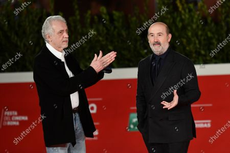 Editorial picture of 'Forgotten We'll Be' premiere, Rome Film Festival, Italy - 22 Oct 2020