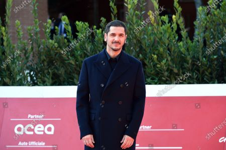 Editorial picture of Director Gabriele Mainetti photocall, Rome Film Festival, Italy - 22 Oct 2020