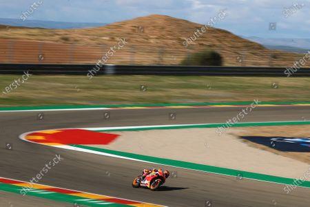 Editorial picture of 2020 Teruel GP, Motorland Aragon, Spain - 23 Oct 2020