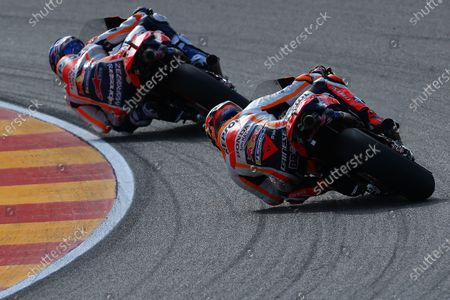 Stock Picture of MOTORLAND ARAGON, SPAIN - OCTOBER 23: Stefan Bradl, Repsol Honda Team during the Teruel GP at Motorland Aragon on October 23, 2020 in Motorland Aragon, Spain. (Photo by Gold and Goose / LAT Images)