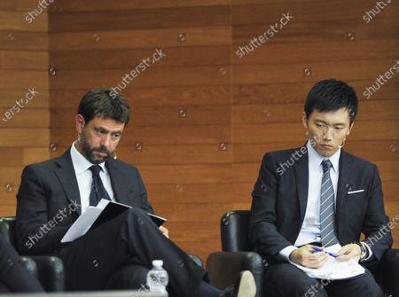 Andrea Agnelli, Steven Zhang