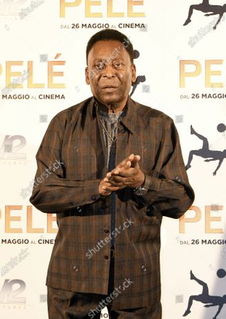 Editorial picture of Pele turns 80, Milan, Italy