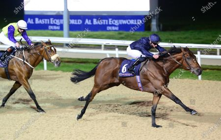 DUNDALK 23-October-2020. PARTY SEASON and Seamie Heffernan win for owners Mrs John Magnier, Michael Tabor & Derrick Smith and trainer Aidan O'Brien.