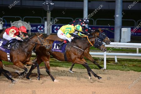DUNDALK 23-October-2020. PILLAR and Colin Keane (yellow) win for owner Sean Gallagher and trainer Ado McGuinness.