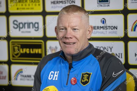 Livingston FC press conference with Gary Holt manager