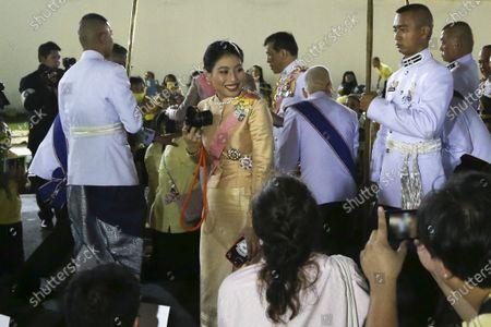 Editorial image of Thai King Maha Vajiralongkorn Bodindradebayavarangkun at the anniversary ceremony for late Thai King Chulalongkorn in Bangkok., Thailand - 16 Oct 2020