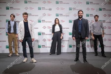 Director Matteo Rovere, Marianna Fontana, Andrea Arcangeli, Francesco Di Napoli
