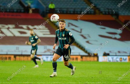 Leeds United midfielder Jamie Shackleton (46)  during the Premier League match between Aston Villa and Leeds United at Villa Park, Birmingham