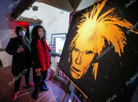 Editorial picture of Andy Warhol exhibition opens in Nichelino, Italy - 23 Oct 2020