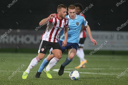 Editorial photo of SSE Airtricity League Premier Division, Ryan McBride Brandywell Stadium, Derry - 23 Oct 2020