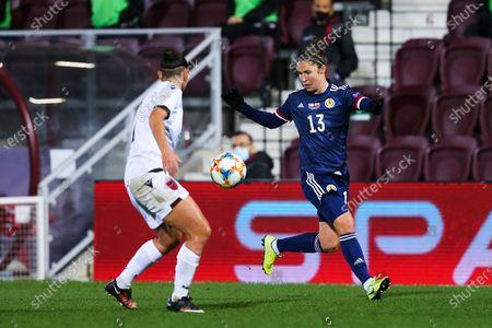 Editorial image of Scotland Women v Albania Women, UEFA Womens European Championship Qualifier - 23 Oct 2020