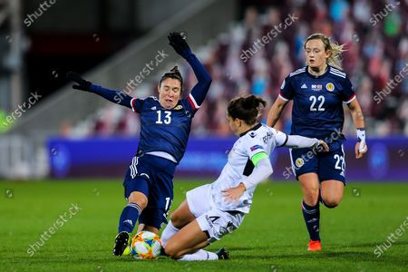 Editorial picture of Scotland Women v Albania Women, UEFA Womens European Championship Qualifier - 23 Oct 2020