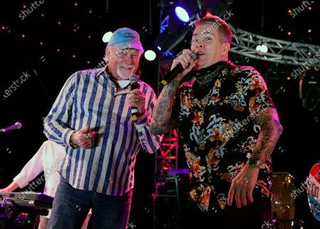 Redaktionelt foto af Concerts In Your Car - The Beach Boys, Ventura, United States - 23 Oct 2020